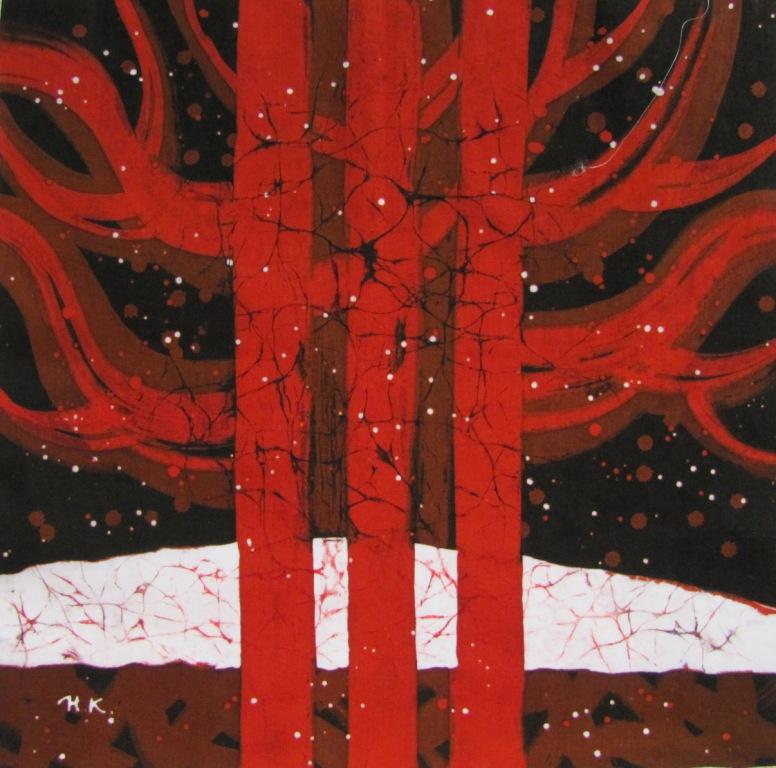 Nataliia KOLOBOVA «Messages sur soie»