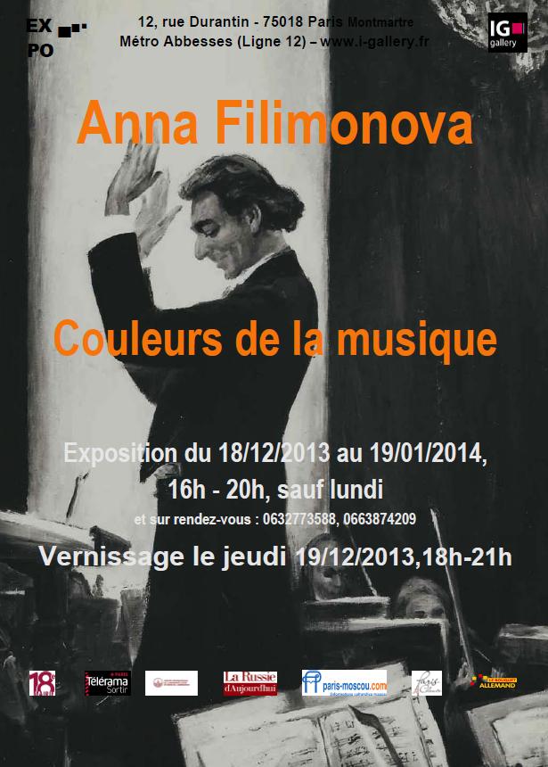 Anna FILIMONOVA «Couleurs de la musique»