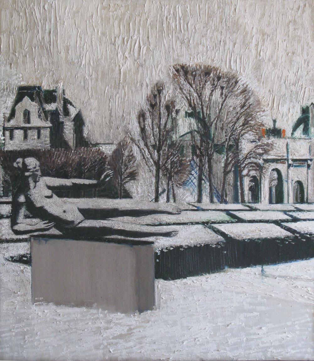 Jardin des Tuileries  85х60  2013  х.м